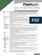 Aviation Terms Glossary