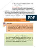Material Pentru Examenul Psihologia Educatiei
