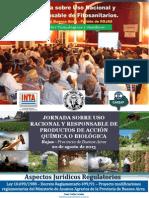 JORNADA AGROQUÍMICOS - ASPECTOS TECNOLÓGICOS Y JURÍDICOS - AGO 2013 ROJAS