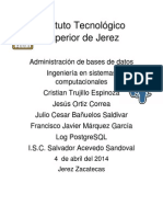 Bitacoras PostgreSQL