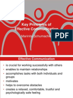 Key Principles of Communication by Madam Marinita Schumacher 2358