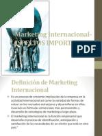 Marketing Internaciona III