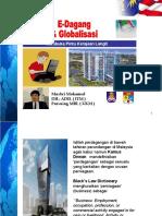 E-Dagang & Globalisasi