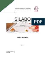Silabo Clinica Integral III 2014