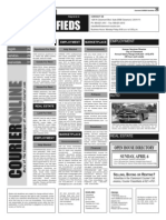 Claremont COURIER Classifieds 4-4-14