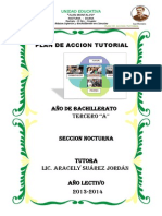 Plan de Accion Tutorial 2013 - 2014