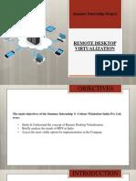 Remote Desktop Virtualization- Krishna