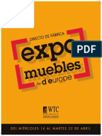 Catálogo Expo Muebles by D'Europe