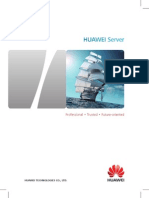 Collection of HUAWEI Server Brochures