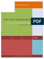 The Costs of Bankruptcy