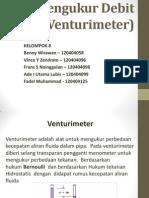 Alat Pengukur Debit Pipa (Venturimeter)
