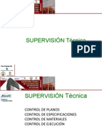 Supervision Tecnica 2014-5 La Realidad de La Supervision de Obra