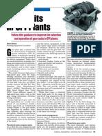 Gear Units in Cpi Plants