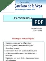 CLASE 1 PSICOBIOLOGÍA