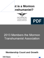Mormon Transhumanist Association Member Survey Results 2013