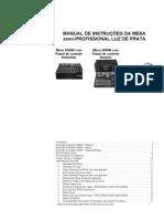 Manual Mesa Dimmer 3000W e 4000W - Luz de Prata