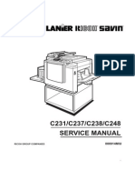 JP1030 Service Manual