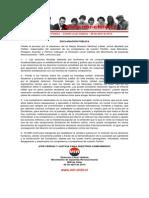 Declaración Pública - Valdivia - 08 abril de 2014