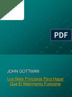 Gottman 7 Principios Charla Xx