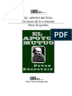 El apoyo mutuo, un factor de la evolución, P. Kropotkin.pdf