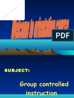 Continuous Comprehensive Evaluation - Group Controlled Instruction