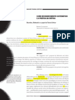 CELIKATES, Robin - O não reconhecimento sistemático e a prática da crítica - Novos Estudos Jun 2012