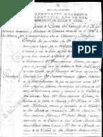 Nombramiento de caballero y Genealogía de Tomás Muñoz