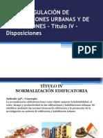 LEY DE REGULACIÓN DE HABILITACIONES URBANAS