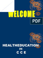 Health Education in Continuous Comprehensive Evaluation