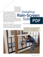 Rain Screen Detailing Article, by Gary Katz and Bill Robinson