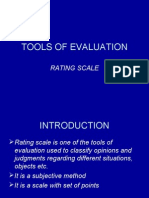 Continuous Comprehensive Evluation - Tools of Evaluation