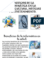 BENEFICIOS DE LA INFORMÁTICA EN LA SALUD,