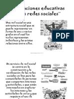 Aplicaciones educativas de las redes sociales¨