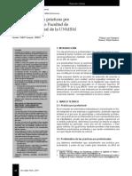 Diagnosttico de Las Practicas Pre-profesionales en La Unmsm