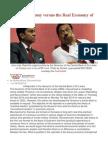 Illusory Economy Versus the Real Economy of Sri Lanka