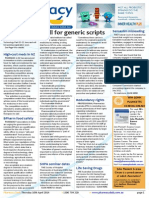 Pharmacy Daily for Thu 10 Apr 2014 - AMA call for drug misuse summit outcomes, Guild services survey, Call for generic scripts, Travel Specials and much more