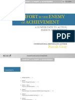 Comfort is the Enemy of Achievement Farrah Gray
