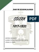 Cólera 1817