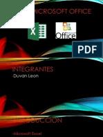 Excel y Microsoft Office