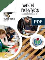 Europeana Fashion Edit-A-thon Handbook for GLAMs