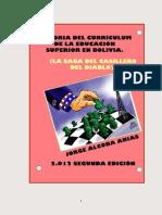 HISTORIA DEL CURRÍCULUM DE LA EDUCACIÓN SUPERIOR BOLIVIANA