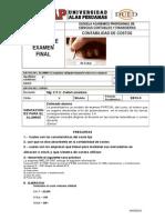 2 Modelo de Examen Final Contabilidad de Costos