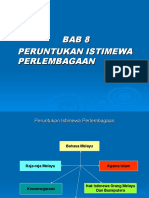 bab 8 peruntukan istimewa perlembagaan