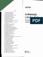 Held, La Democracia y El Orden Global Cap II