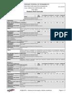 Ciencia Da Computacao UFPE Perfil 2002