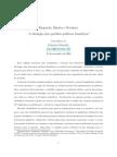 ZUCCO Jr, Cezar - Esquerda, direita e centro, a ideologia dos partidos políticos brasileiros