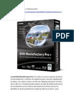 Corel DVD Movie Factory Pro 7 [Full] [Español] [FS]