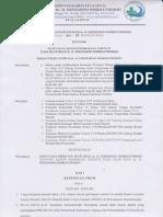 Penetapan Sistem Pembagian Insentif (Remunerasi)