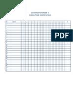 Gen Chart Praktek Komunitas Di Rt Rw