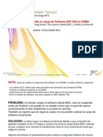 Carga de Software Flexi-Edge BTS